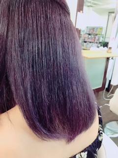 【カラー】モーヴバイオレット