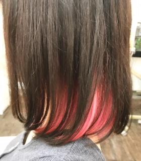【カラー】インナーピンク