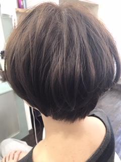 【カラー】明るい白髪染め マットブラウン